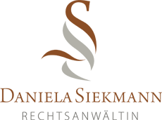 RECHTSANWÄLTIN Daniela Siekmann - Logo